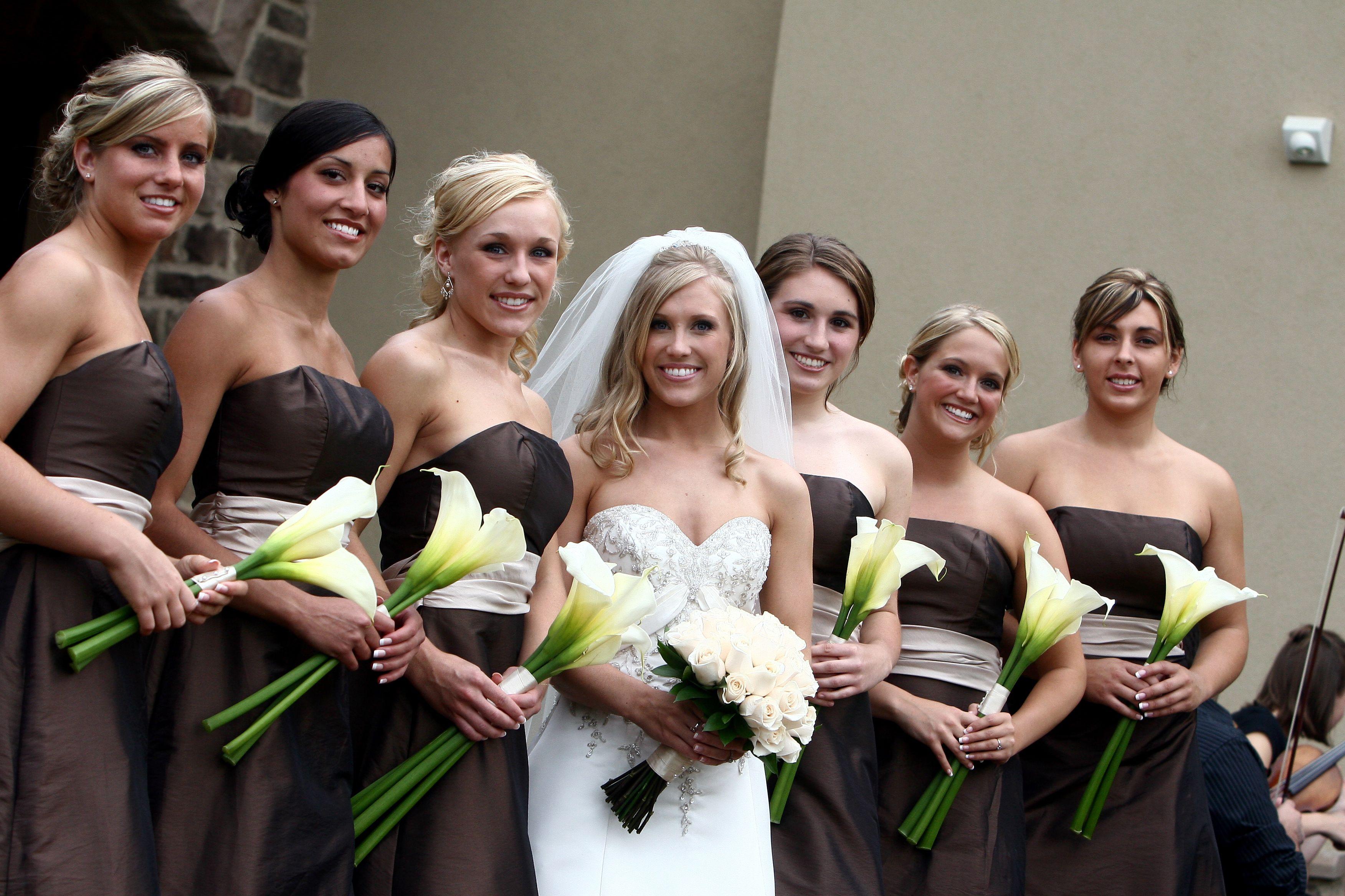 A Diy Wedding Is A Favorite Among Brides Calla Lily Bridesmaid