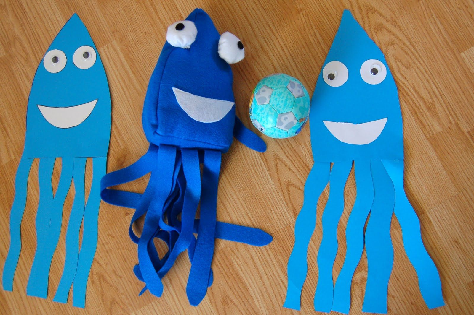 Image Result For Blue Giant Squid Puppet