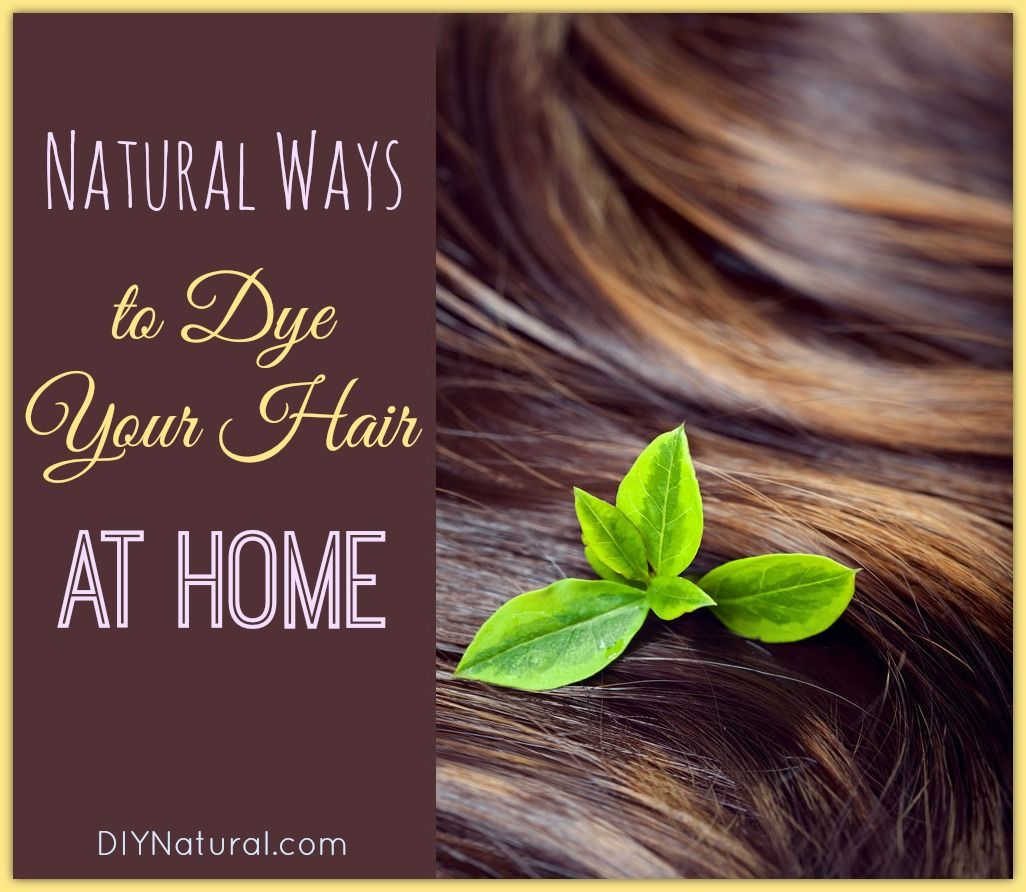 Homemade hair dye natural ways to get different colors at