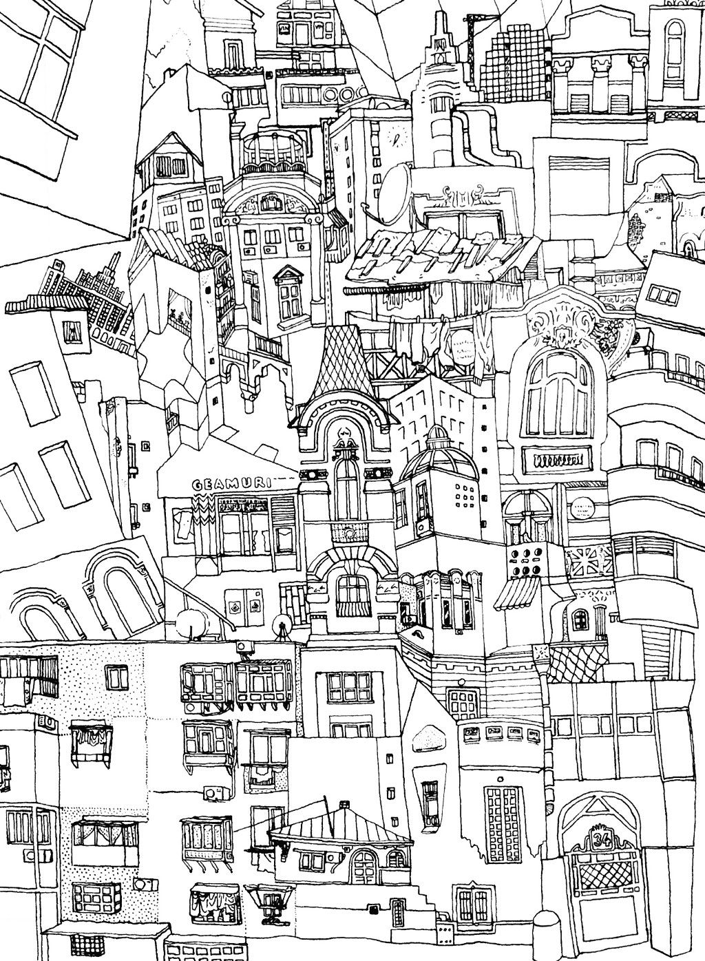 W Earthquake Dotted Drawings Online Coloring Pages Computer Drawing