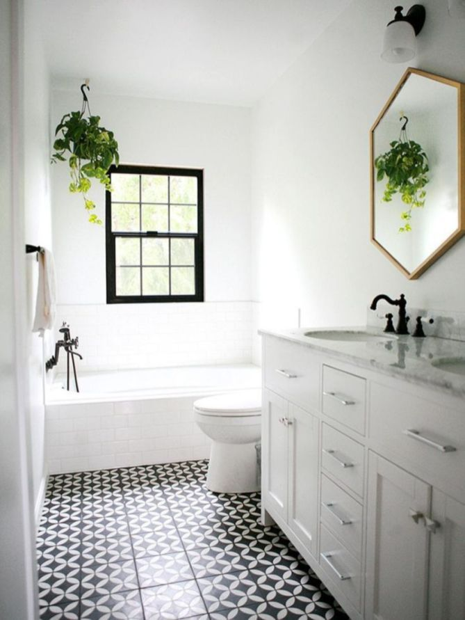 Affordable Guest Bathroom Makeover Ideas On A Budget (19 ...