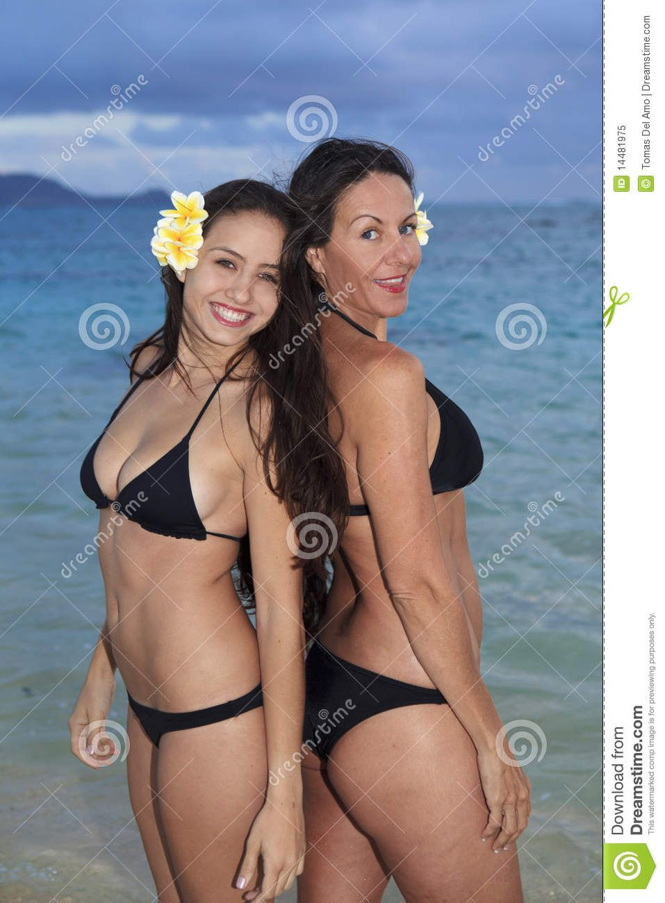 Only bikini women photographs royalty free
