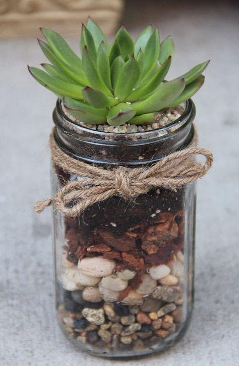 Un mini terrarium fait maison. Voici pour vous aujourd'hui, une petite sélection de 20 idées ...
