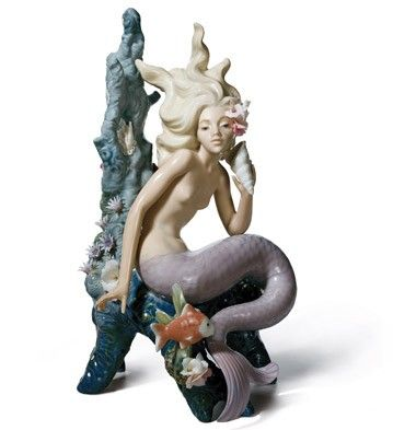 01005785  OCEAN BEAUTY   Issue Year: 1991  Sculptor: José Puche  Size: 25x15 cm
