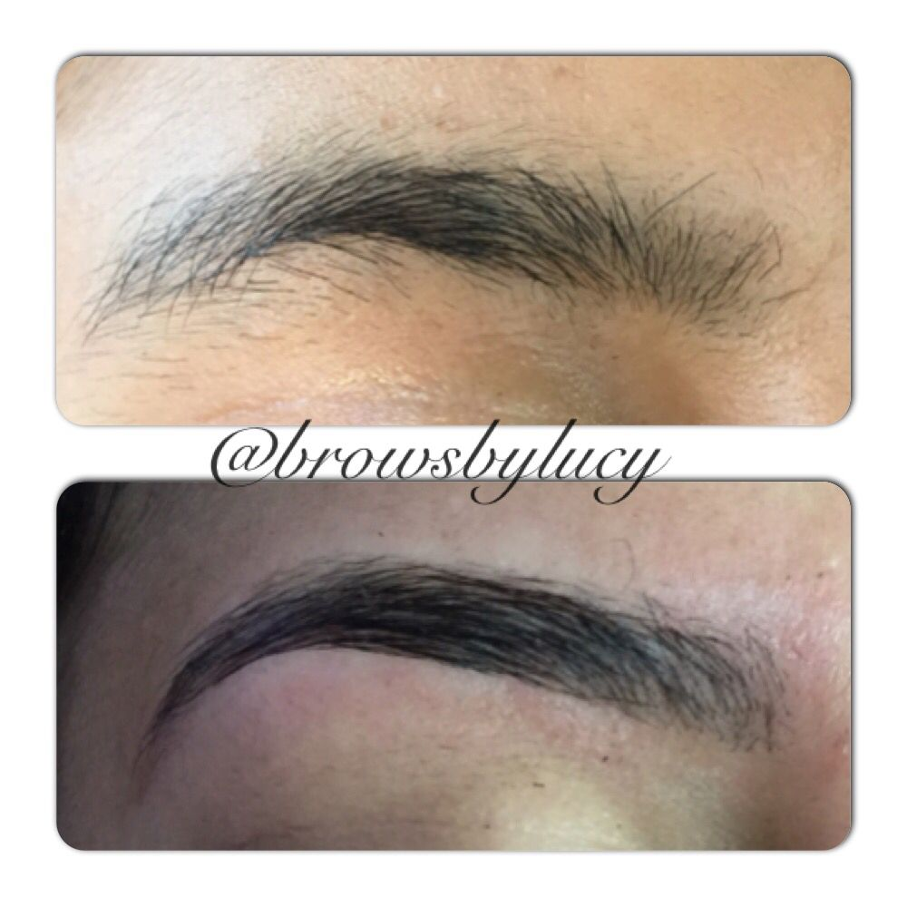 Amazing Beforeafter Of An Eyebrow Ironing Planchado De Cejas