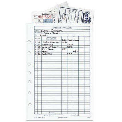 Franklin Covey Classic Expense Envelopes By Franklin Covey Http Www Amazon Com Dp B0002covpq Ref Cm Sw R Pi Dp D Envelope Template Franklin Planner Envelope