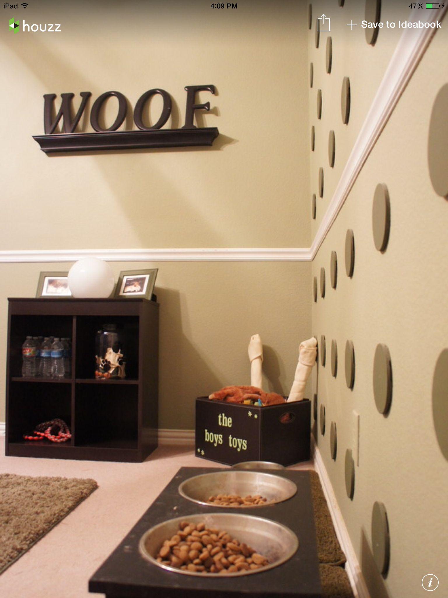 Doggy room ideas | Doggy Style | Pinterest | Doggy stuff, Dog and ...