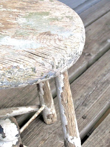 battered old stool