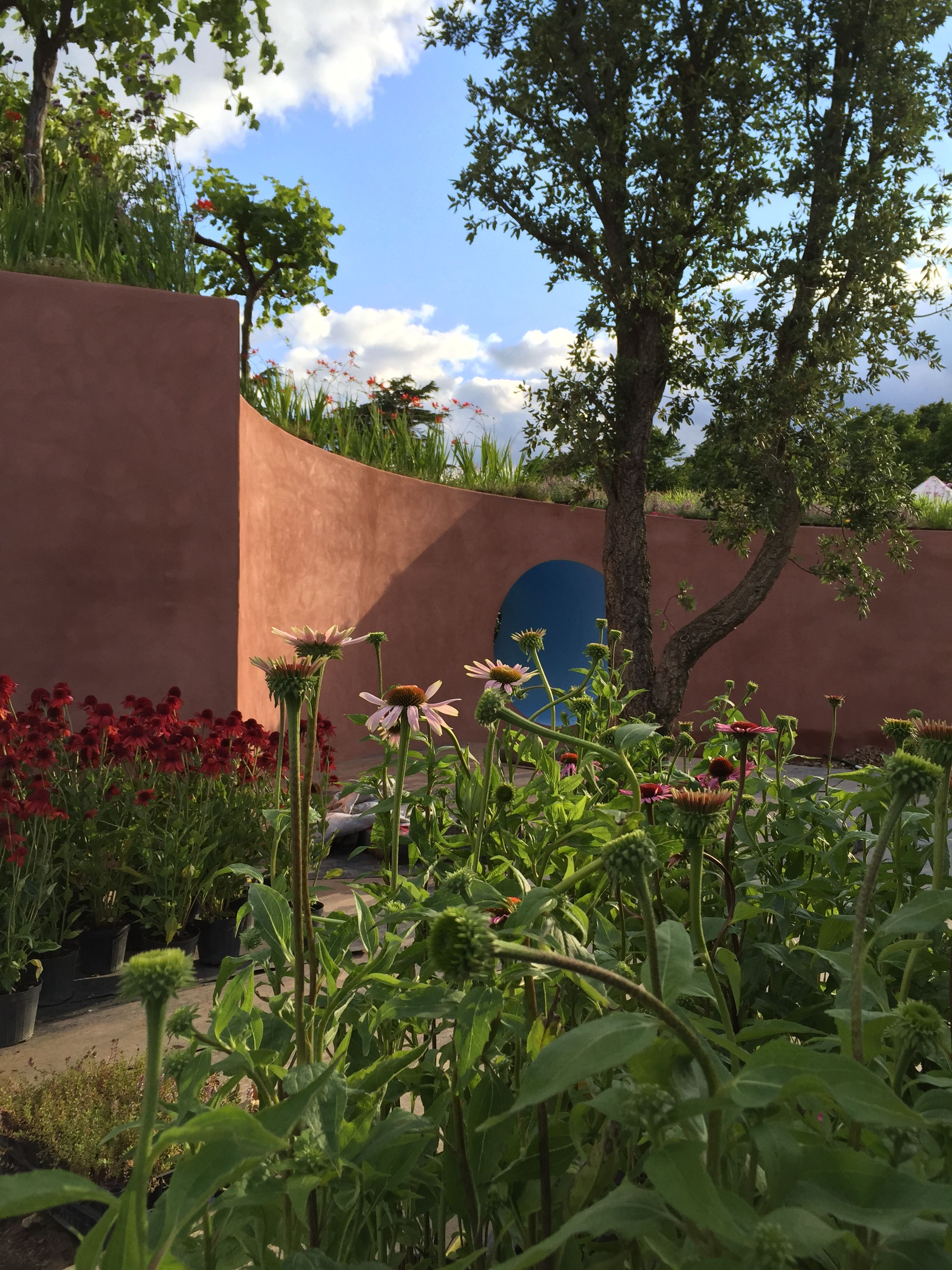 Studio Passerotti - The circle of life - Show Garden at Hampton Court Flower Show 2015. www.studiopasserotti.com