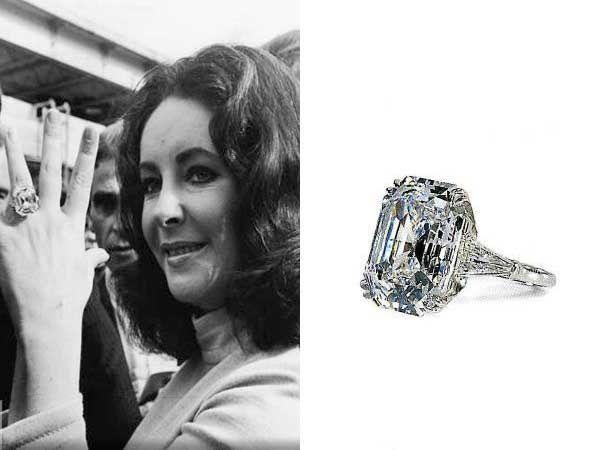 Resultado de imagen para The Elizabeth Taylor Diamond