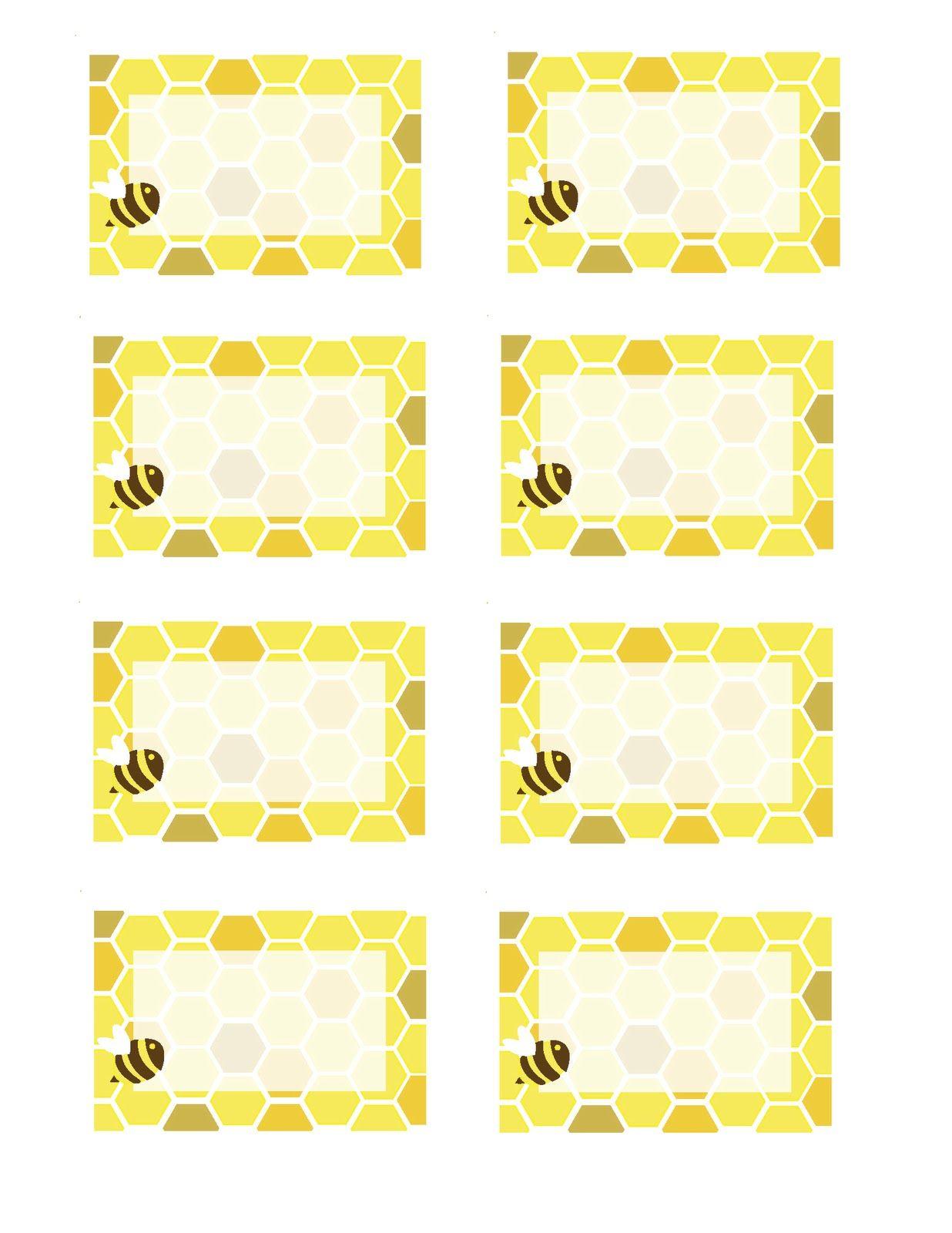 Honeybee Printables