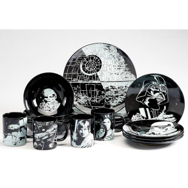 Star Wars 16 Piece Dinner Set  sc 1 st  Pinterest & Star Wars 16 Piece Dinner Set | Star Wars !! | Pinterest | Dinner ...