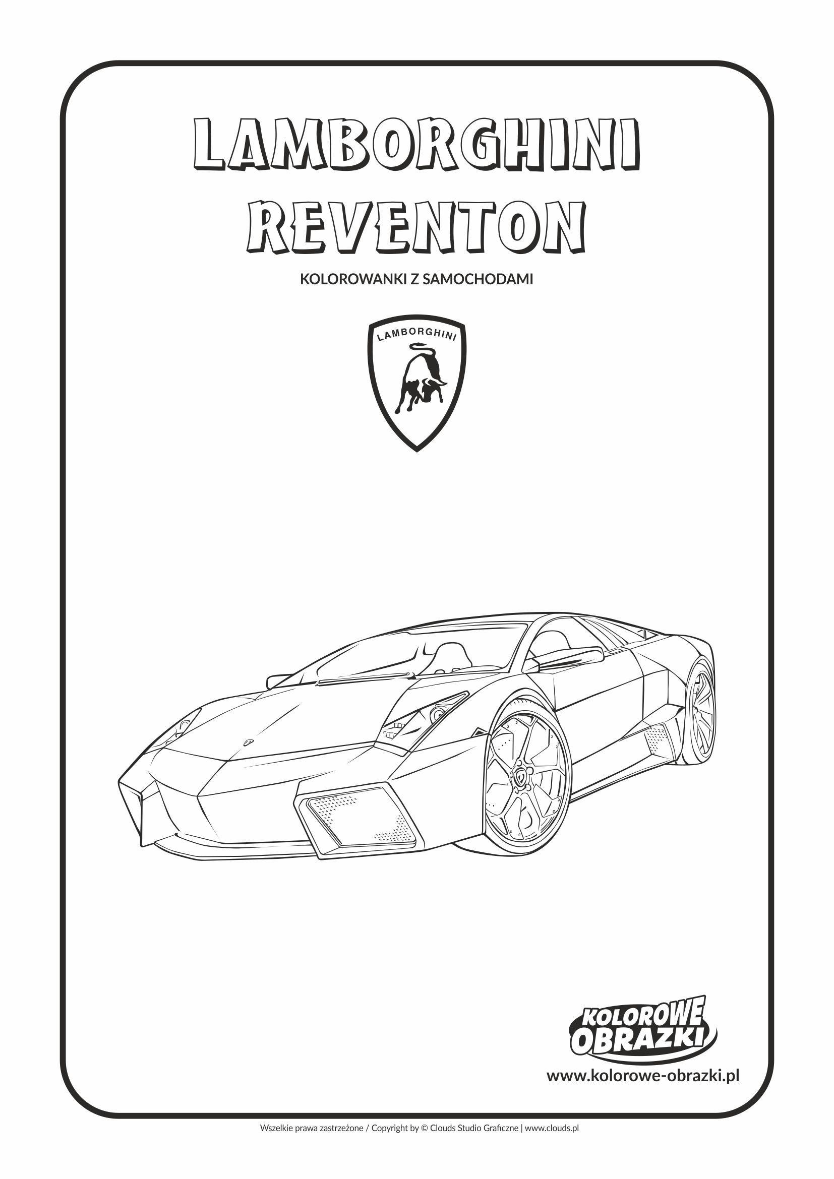Lamborghini Reventon Lamborghini Kolorowanki Dla Dzieci