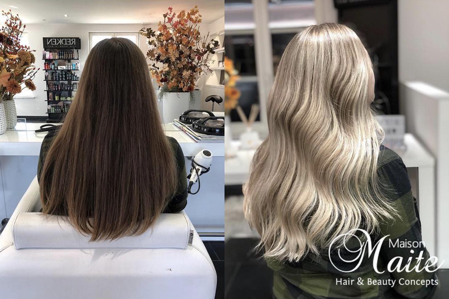 Ash blonde balayage ombre long hair #naturalashblonde