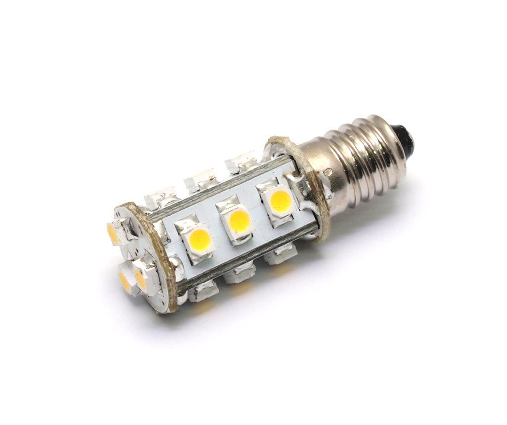 Ac Dc 12v 24v 1 8w 15x 3528 Cluster Led Light Bulb E10 Mini Screw Fitting Lamp 1447 Replacement Led Light Bulb Bulb Led Bulb