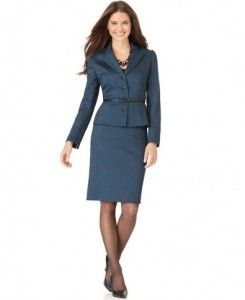 Women Business Suit Skirt Womens