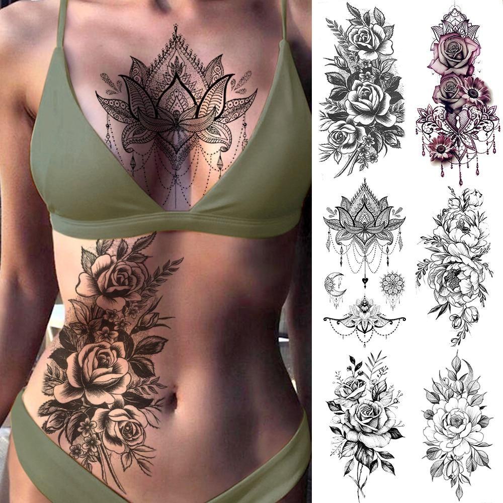 Fabulous Temporary Body Tattoos