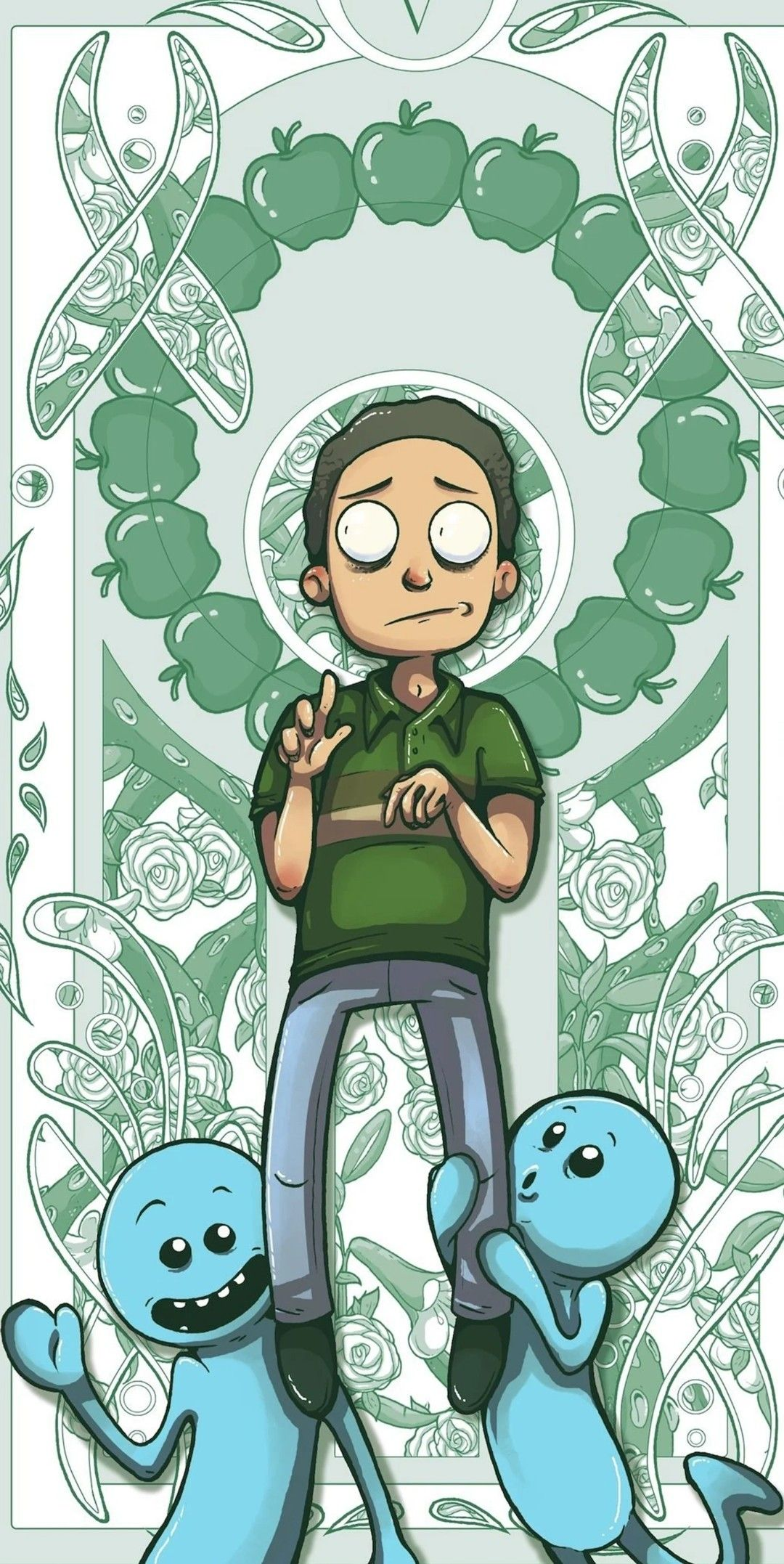 Pin On Rick Morty Wallpapers