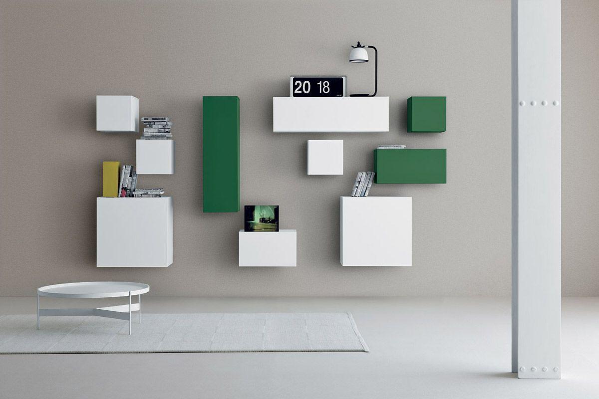 Pianca Mobili ~ Sistema modulare librerie modello spazio moduli pianca