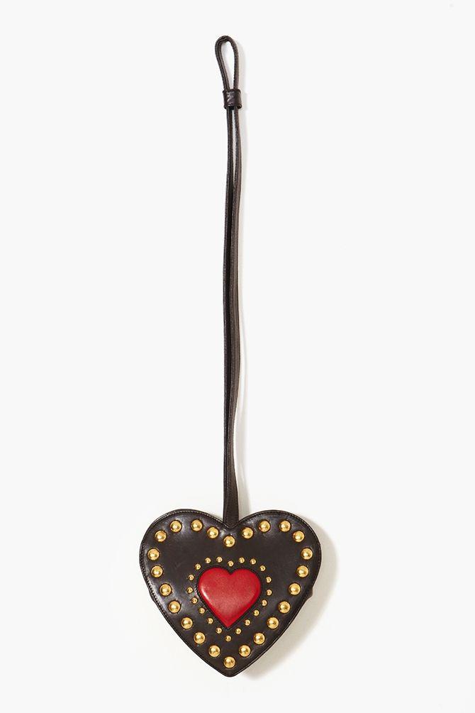 Moschino Studded Heart Bag  $268.00
