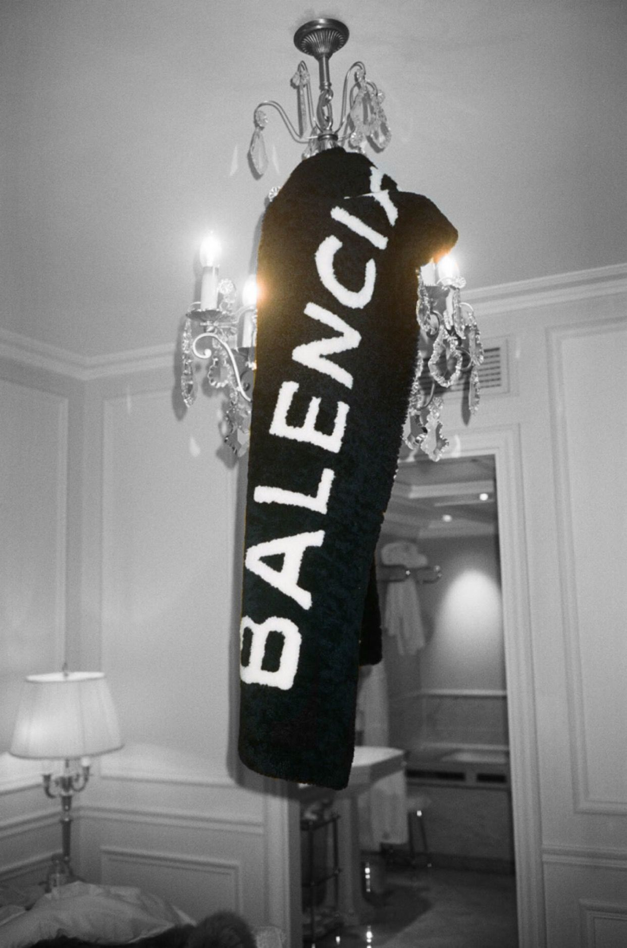 Balenciaga Style Inspiration Boujee, Photo wall