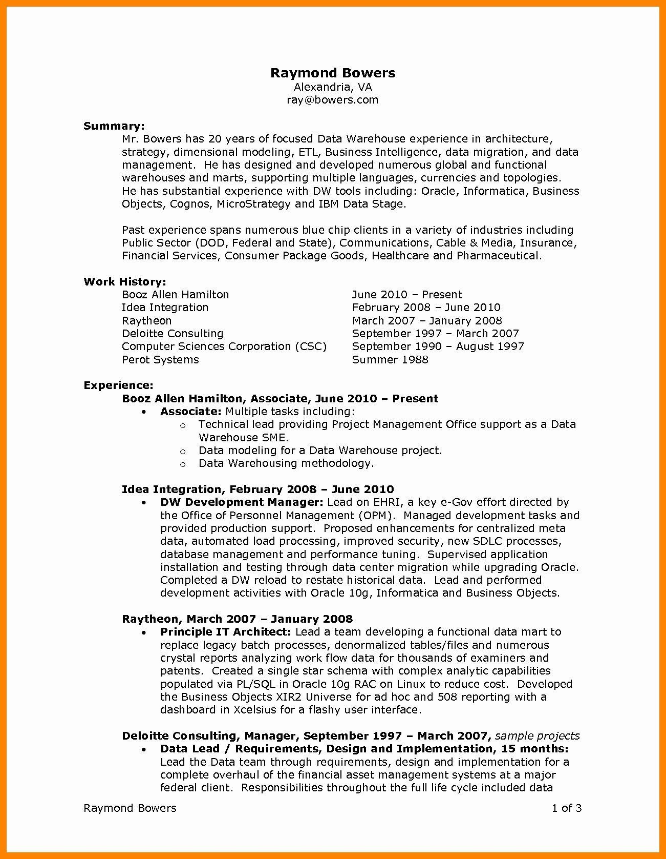 Resume For Internal Promotion Template Free Downloads