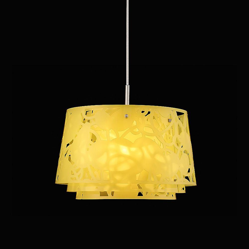Collage 450 Pendant Light, 75W, Lemon Yellow   Louise Campbell   Louis  Poulsen