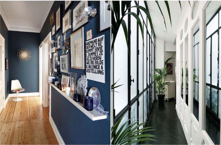 10 id es pour am nager un couloir troit petits espaces optimis s gallery wall home decor. Black Bedroom Furniture Sets. Home Design Ideas