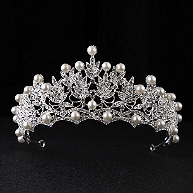 Birthday Crown Silver Rhinestone Tiara Headpiece Party Jewelry Headwear Gift