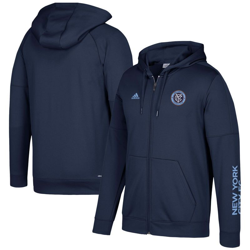 New York City FC adidas Hoodies, adidas New York City FC