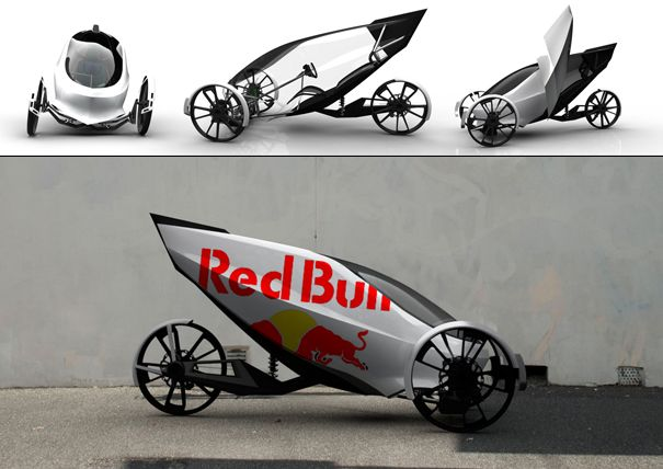 electric motorcycle enclosed - photo #30
