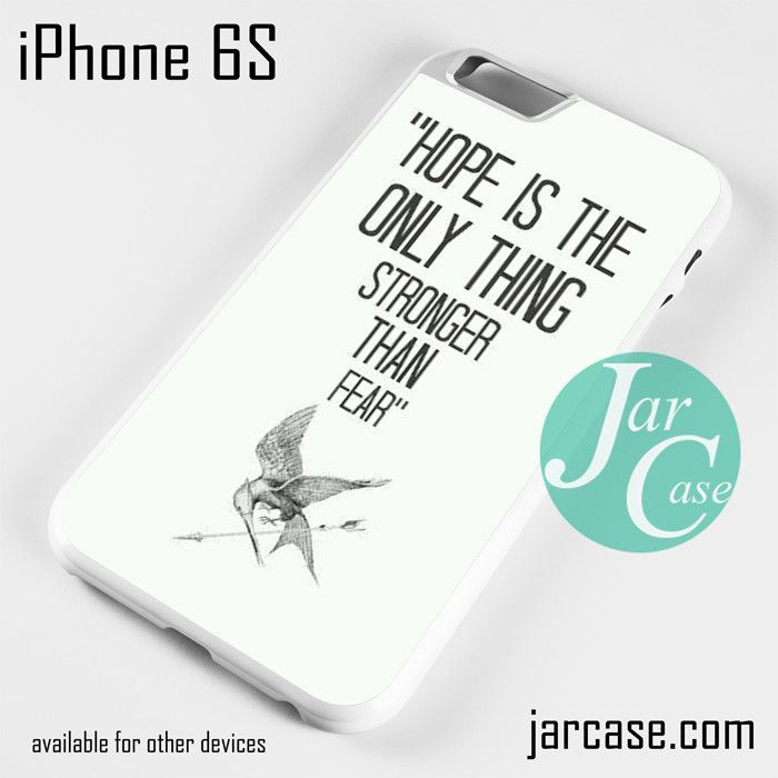 Hunger Game Quotes Phone case for iPhone 6/6S/6 Plus/6S plus