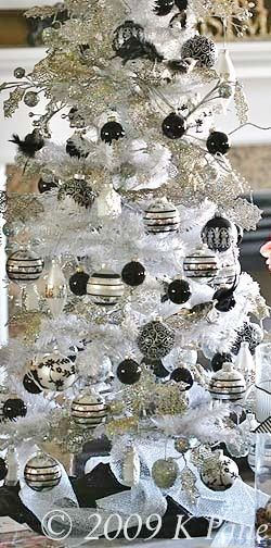Black,Silver  White Christmas A Very Channel  Fabulous Christmas