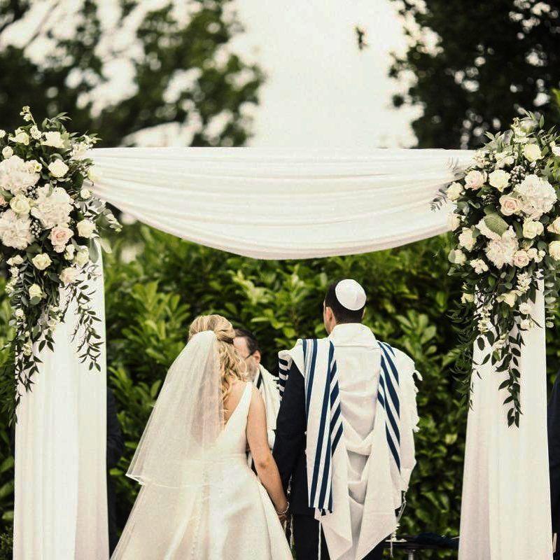 Matrimonio Judio : En el matrimonio judío la jupá o palio nupcial es un