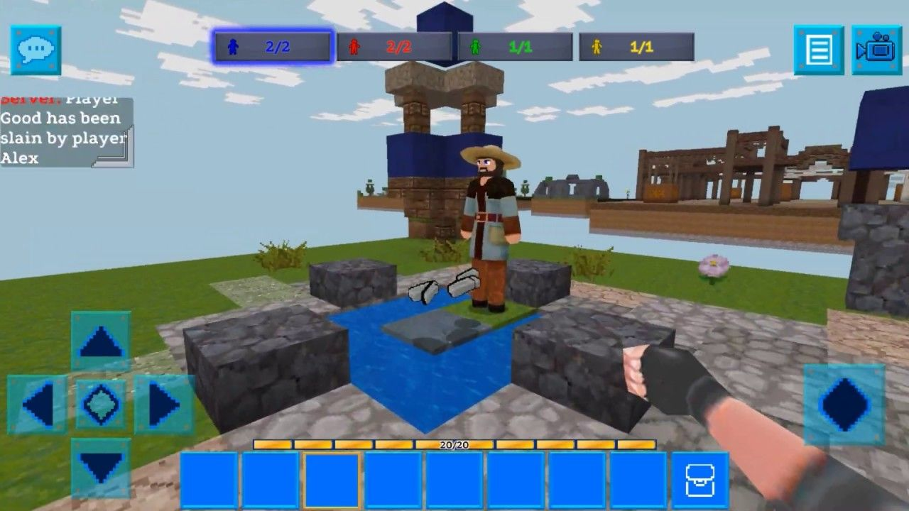 Egg Wars Mini Igra Realmcraft 3d Free With Skins Export To