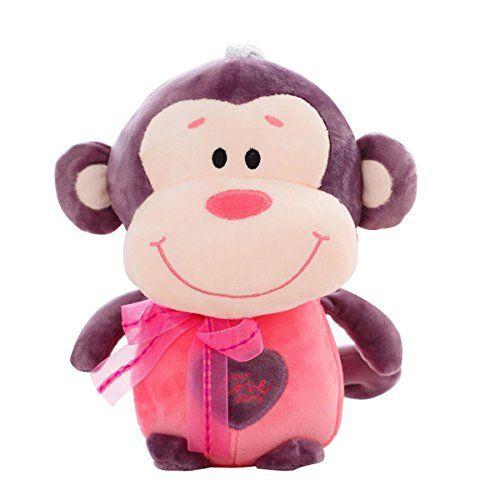 47cm Cute Monkey Plush Toy Soft Stuffed Animal Doll Xmas Christmas