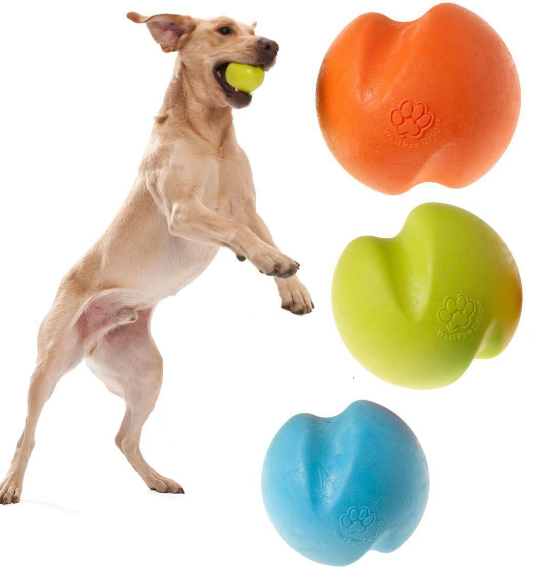 West Paw Toys Jive Ball For Tough Dogs Best Dog Toys Dog Toys