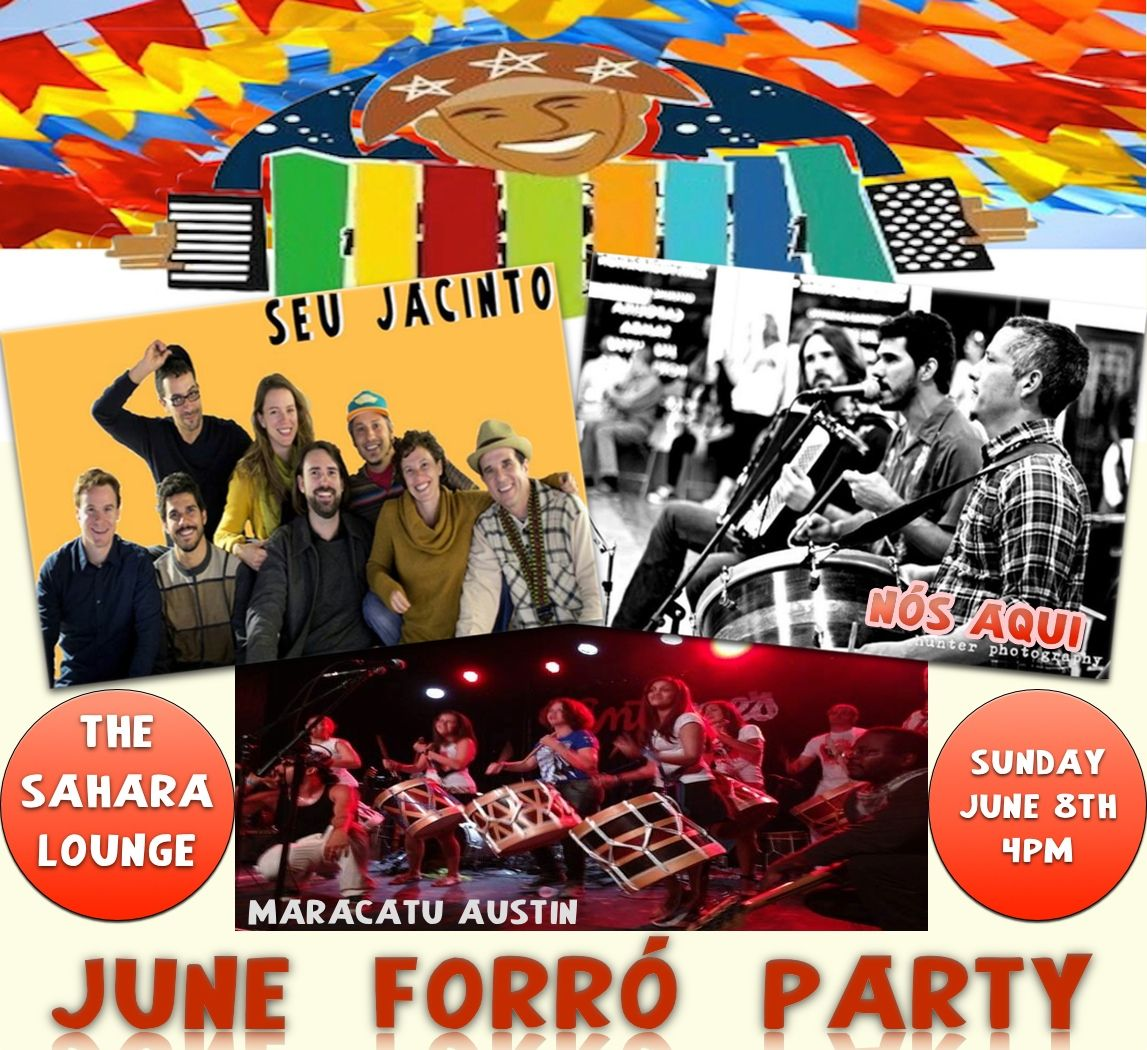 This Sunday : June 8th. - June Forró Party !!!