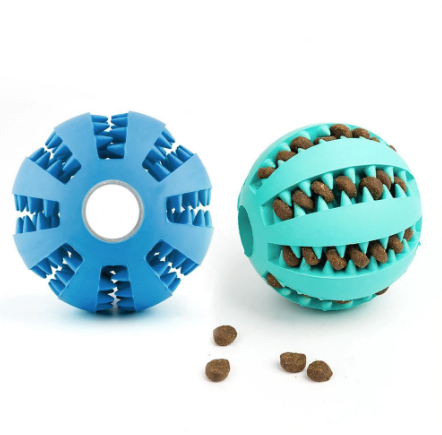 Interactive Rubber Dog Toy Dog Toy Ball Funny Dog Toys Puppy Chew Toys