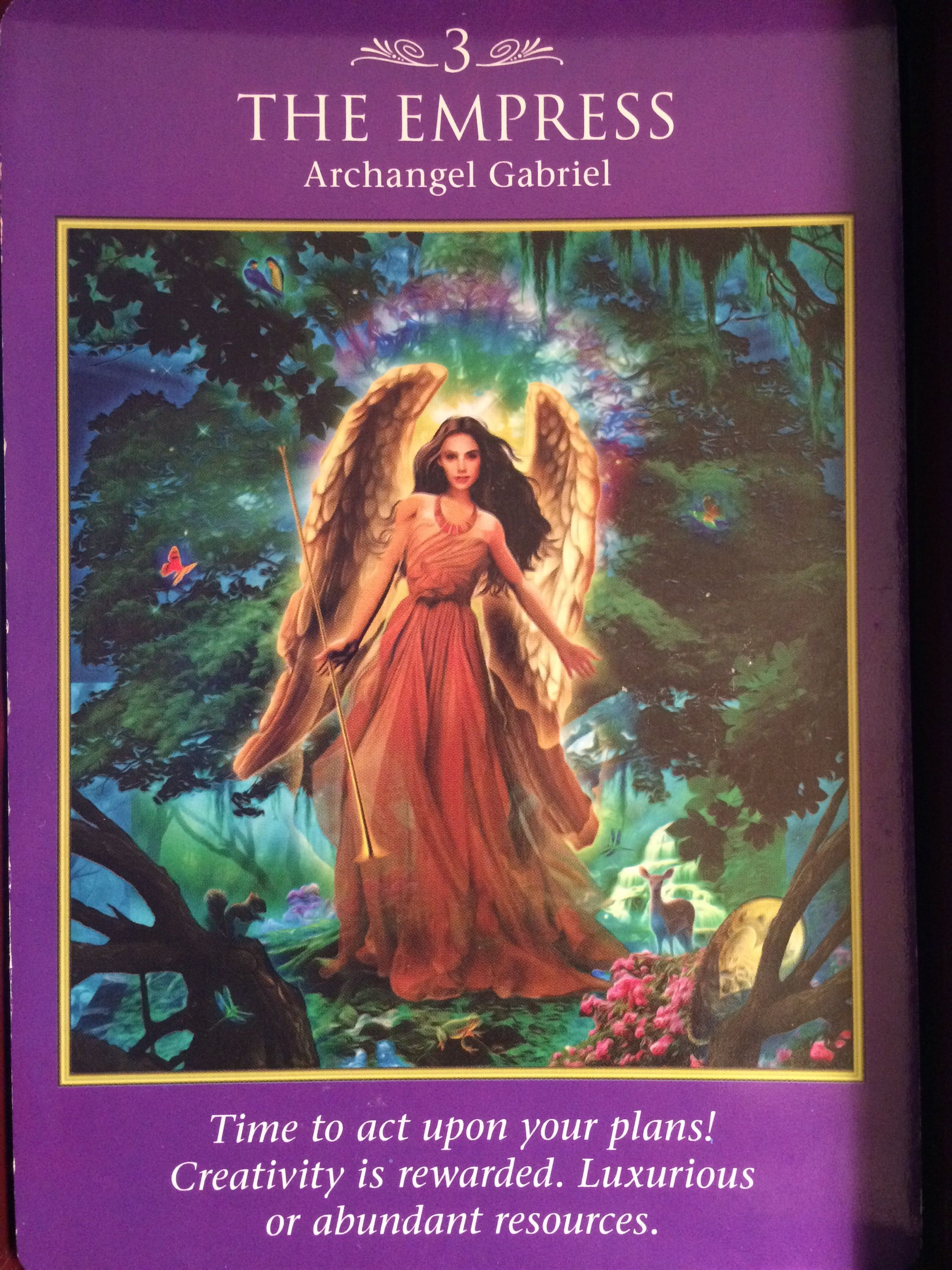 Archangel Power Tarot Cards Perspective: Image Result For Archangel Power Tarot Cards The Empress