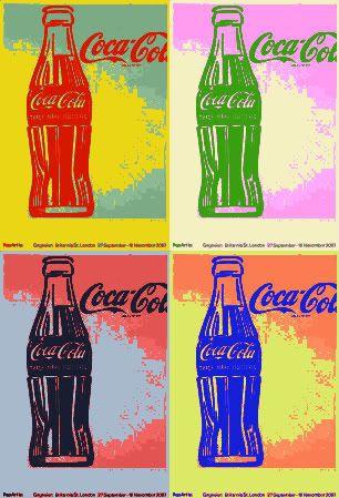 Resultado de imagen para andy warhol coca cola
