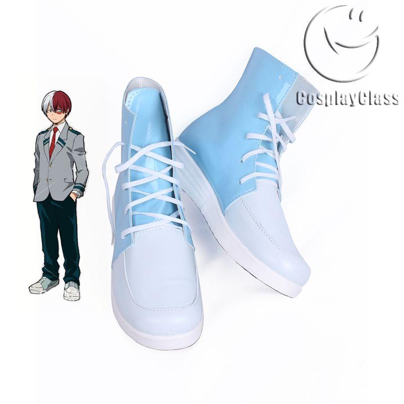 My Hero Academia Todoroki Shouto Uniforms Cosplay Shoes in