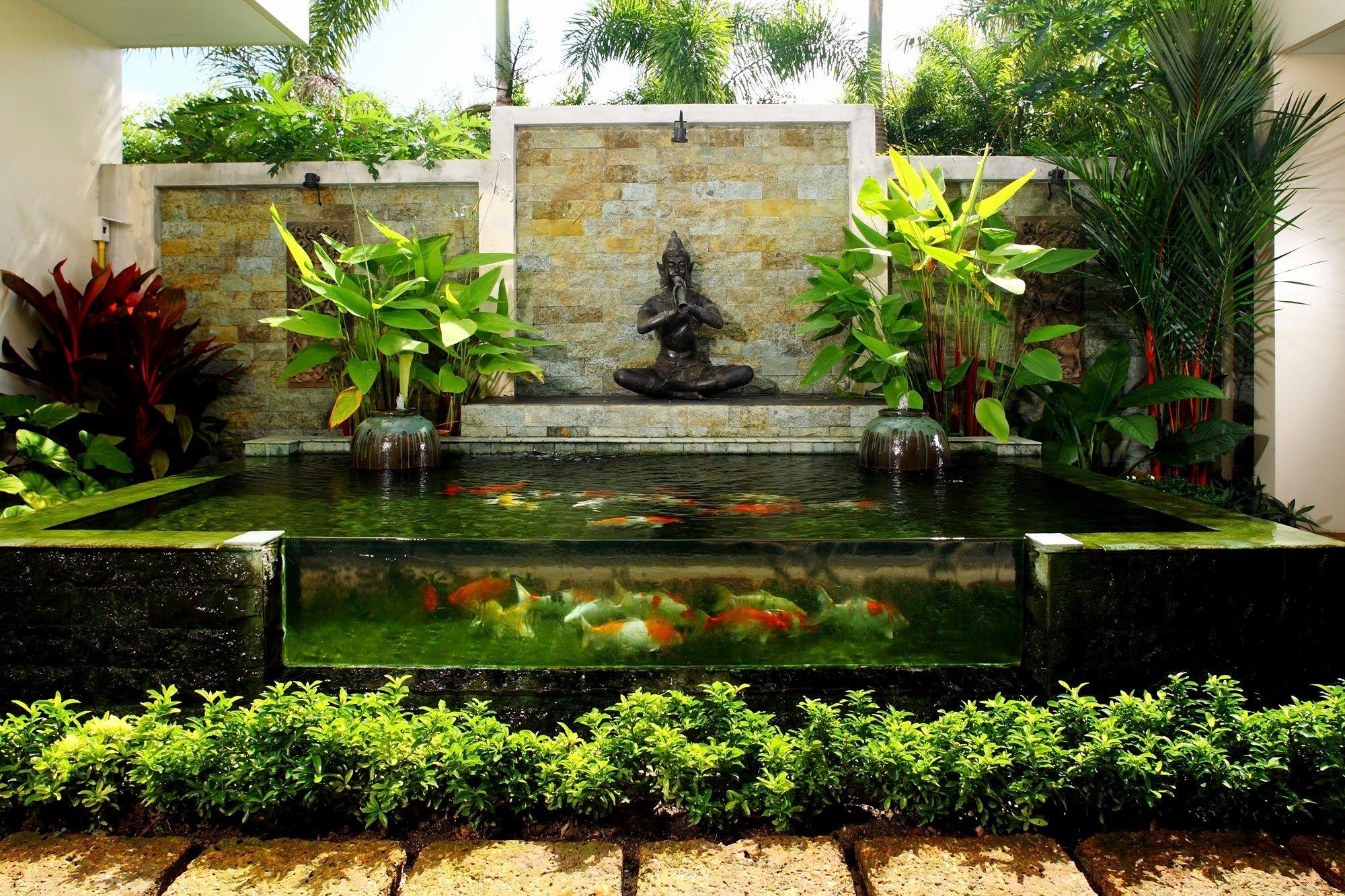 Gardens Ideas Designs Lovely Garden Ideas Flower Garden ... on Courtyard Pond Ideas id=72697