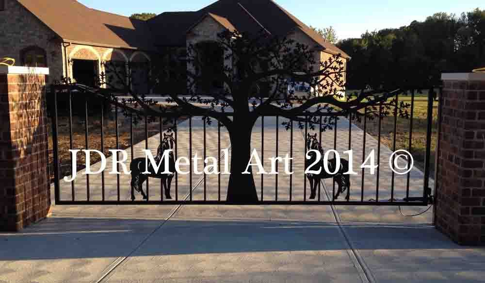 Horse Themed Driveway Gate Designs With Images Gate Design