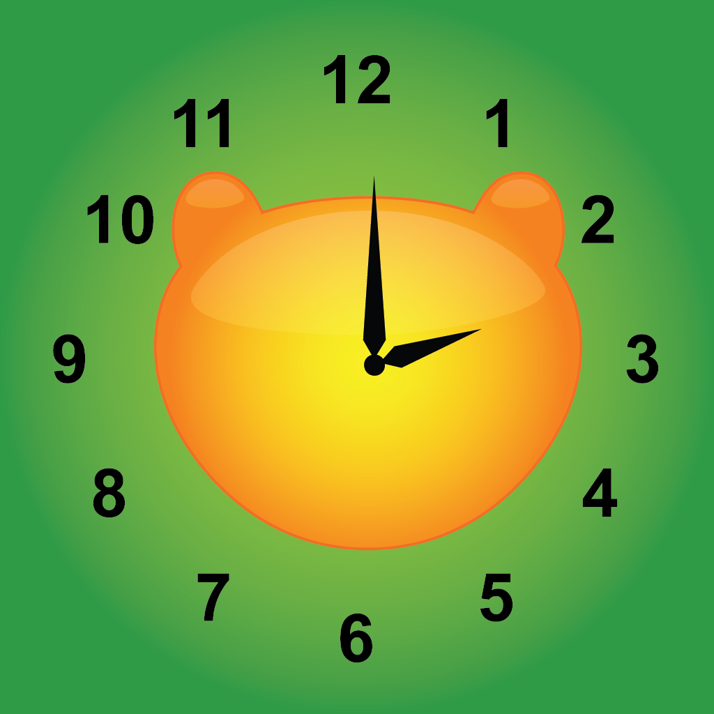 Jungle Time learn how to tell time (for iPad) App