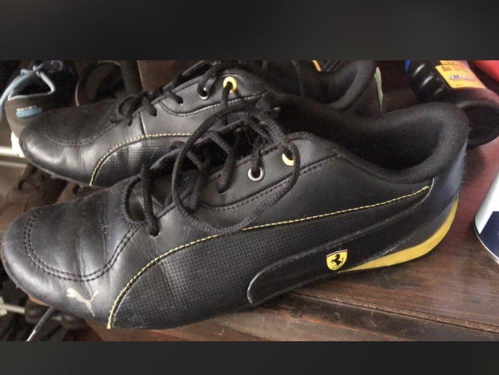 a3ceb49cf2a PUMA Ferrari Kids Shoes Black 4 1 2 Kids!  fashion  clothing  shoes   accessories  mensshoes  athleticshoes (ebay link)