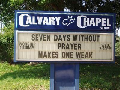 World's Best Church Signs! - Beliefnet com   Laughter - The Best