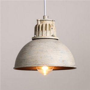 (EU Lager)Rustikal Pendelleuchte aus Metall Schale Design 1-Flammig