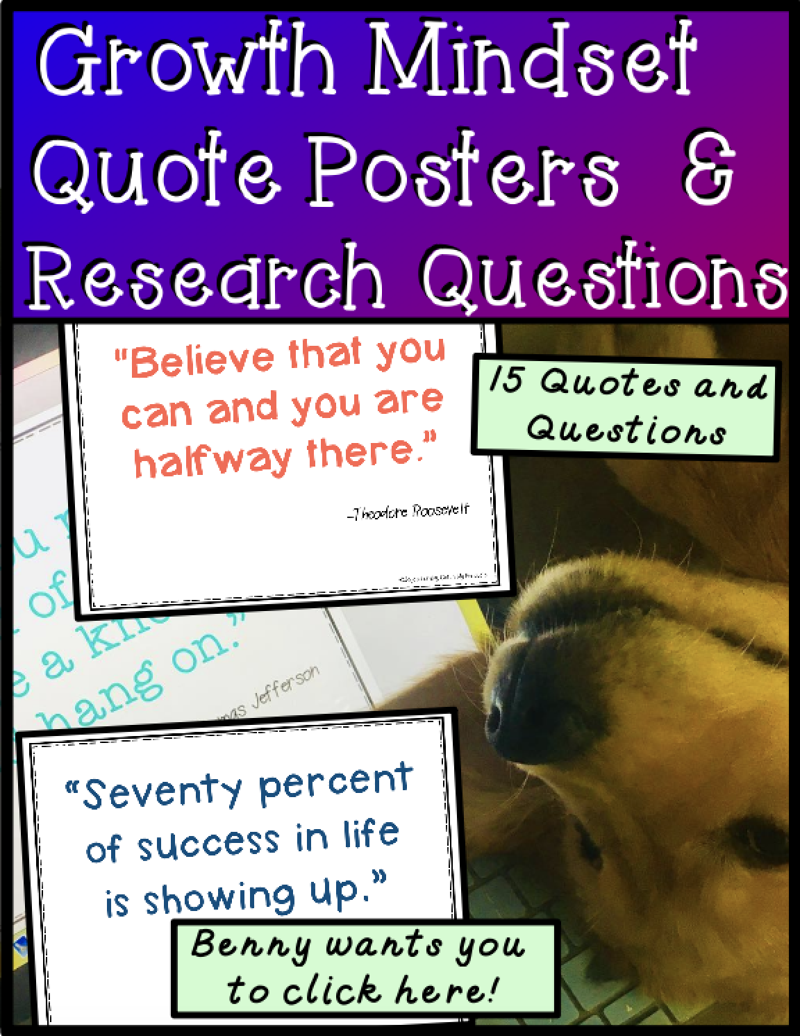 Growth Mindset Poster And Activity