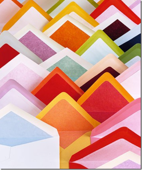 love paper, love the lined envelopes.
